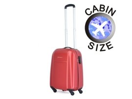 Mała walizka PUCCINI ABS02 C czerwona