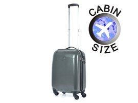 Mała walizka PUCCINI PC005 C grafitowa