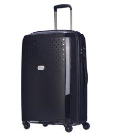 Średnia walizka PUCCINI PP010 czarna